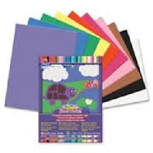 Multicolored 9x12 Construction Paper