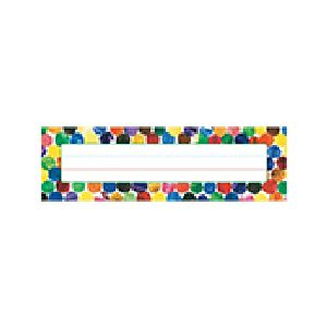 Eric Carle Dots Nameplates
