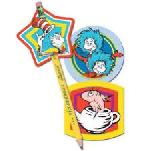 Dr. Seuss Pencil Toppers