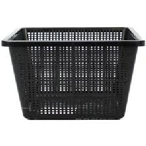 Black Plastic Basket