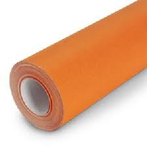 Orange Fade Resistant Bulletin Board Paper