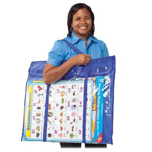 Deluxe Bulletin Board Storage