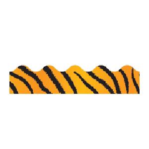Tiger Print Border