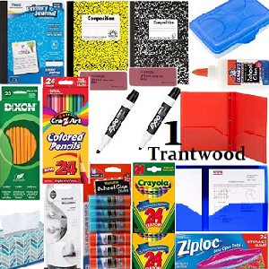 First Grade Student Supply Kit - Trantwood