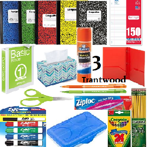 Third Grade Student Supply Kit - Trantwood