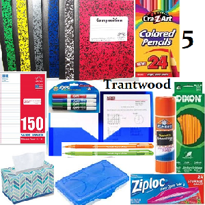 Fifth Grade Student Supply Kit - Trantwood